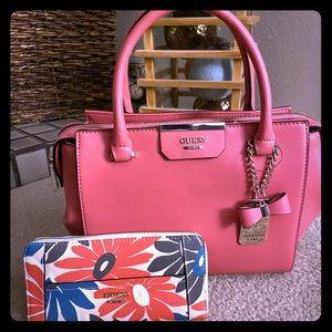 NWT Guess handbag with wallet